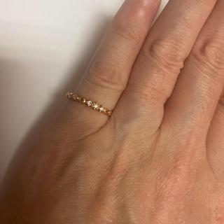 ヨンドシー(4℃)の4℃ダイヤモンドピンキーリング(リング(指輪))