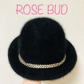 ローズバッド(ROSE BUD)のROSE BUD アンゴラハット ローズバッド(ハット)