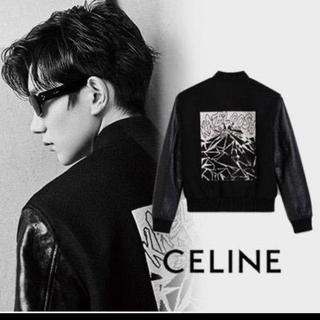セリーヌ(celine)の新品未使用 CELINE セリーヌ 19ss エデテディジャケット -黒44(レザージャケット)