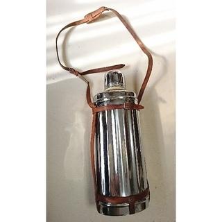 昭和 レトロ グロリア 魔法瓶製作所 魔法瓶 水筒 メタリック(その他)