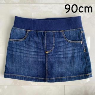 オールドネイビー(Old Navy)の美品 デニムスカート 2T 90cm(スカート)