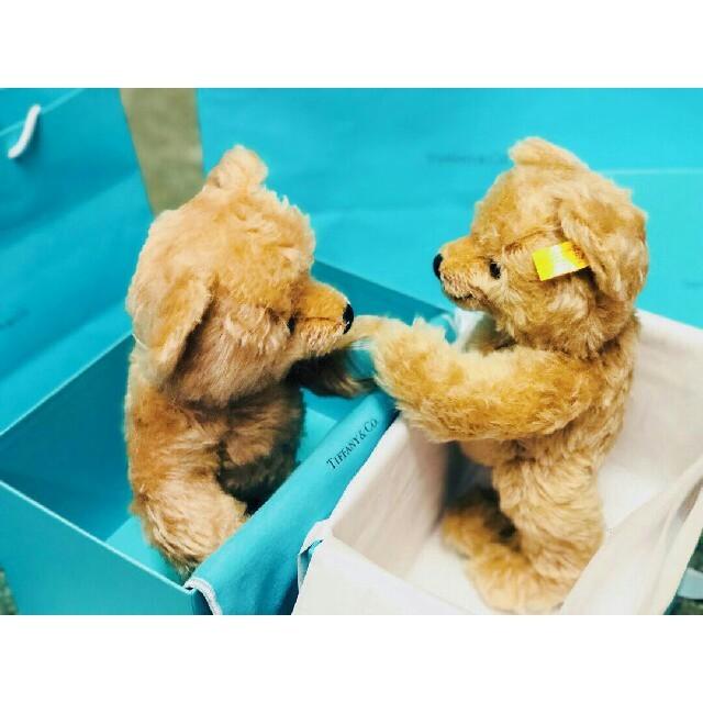 Tiffany & Co.(ティファニー)のティファニー ラブ テディベア エンタメ/ホビーのおもちゃ/ぬいぐるみ(ぬいぐるみ)の商品写真