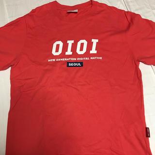 スタイルナンダ(STYLENANDA)のoioi  オレンジ Tシャツ(Tシャツ(半袖/袖なし))
