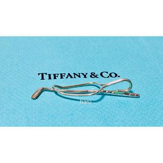 Tiffany & Co. - 最終TIFFANY&Coティファニーレア入手困難ゴルフクラブモチーフネクタイピン
