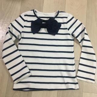 BEE 韓国子供服 サイズ130cm  ➡︎120cm のお子様に ボーダー(Tシャツ/カットソー)