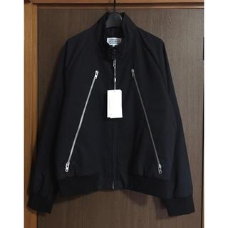 マルタンマルジェラ(Maison Martin Margiela)の黒50新品 メゾン マルジェラ 八の字 バラクーダジャケット ブラック ブルゾン(ブルゾン)