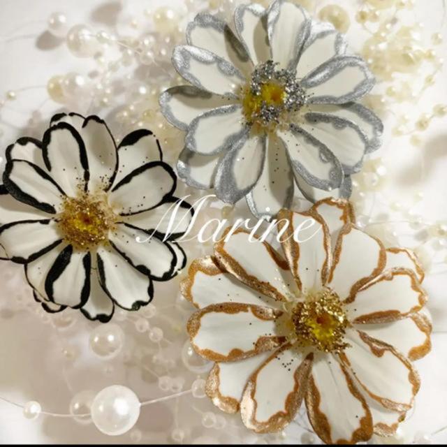 new花材 パズルグラス ゴールドシルバー ハーバリウム花材 ハンドメイドのフラワー/ガーデン(ドライフラワー)の商品写真