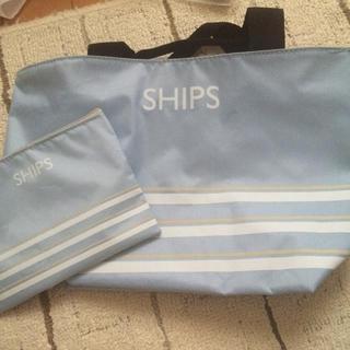 シップス(SHIPS)のミニバッグとポーチのセット(その他)