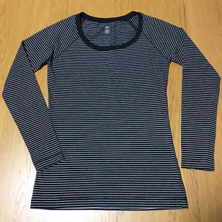 ギャップ(GAP)のGAP ボーダーカットソー  S ロンT 長袖カットソー (Tシャツ(長袖/七分))