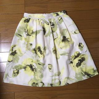 パターンフィオナ(PATTERN fiona)のPATTERN スカート 花柄(ひざ丈スカート)