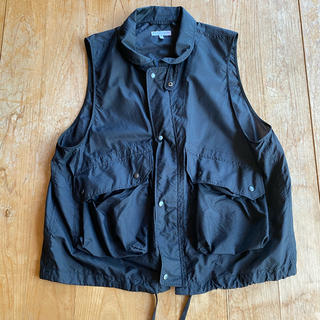 Engineered Garments - 19SS Field vest black M 美品