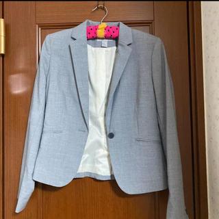エイチアンドエム(H&M)のH&M フォーマルパンツスーツ 上下セット グレー(スーツ)