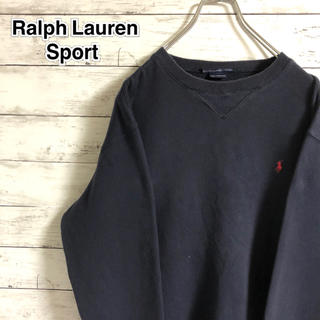 ラルフローレン(Ralph Lauren)の【大人気】ラルフローレンスポーツ☆刺繍ワンポイントロゴ ネイビー スウェット(スウェット)
