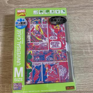 マーベル(MARVEL)の♡マーベル コミックス スマートフォンマルチカバー 手帳型♡(モバイルケース/カバー)