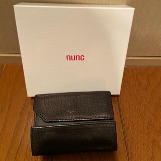 牛革 ヌンク nunc 財布  ウォレット(折り財布)