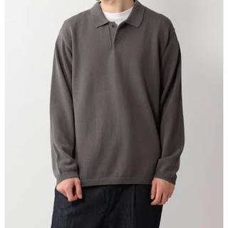 スティーブンアラン(steven alan)のSteven Alan /gass long sleeve poloshirt (ポロシャツ)