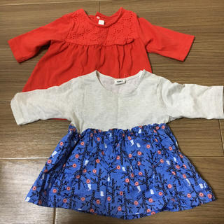 アカチャンホンポ(アカチャンホンポ)のアカチャンホンポ ベビーカットソー(サイズ80)(Tシャツ)