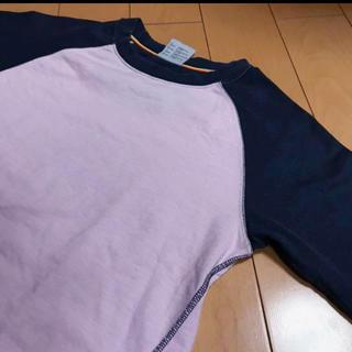 コロンビア(Columbia)のColumbiaピンク✖︎ネイビーラグランチタニウムカットソ(Tシャツ(長袖/七分))