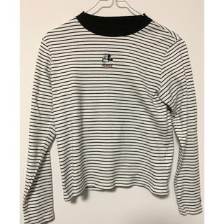 ヘザー(heather)のHeather ミッキー tシャツ 長袖(Tシャツ(長袖/七分))
