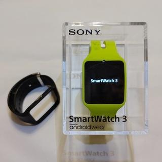 ソニー(SONY)の極美品!SONY スマートウォッチ3 SWR50(腕時計(デジタル))