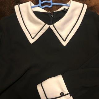 ホッピン(HOTPING)の韓国 襟付きトップス (シャツ/ブラウス(長袖/七分))
