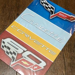 シボレー(Chevrolet)のCORVETTE 60 ブリキ看板(その他)
