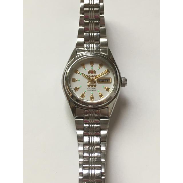 ORIENT(オリエント)の☆ORIENT オリエント 腕時計 シルバー☆ レディースのファッション小物(腕時計)の商品写真