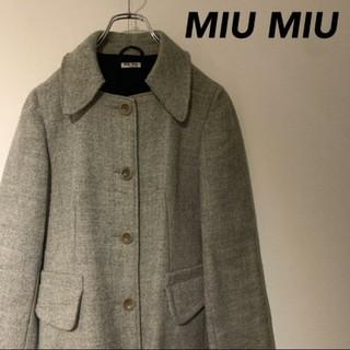 ミュウミュウ(miumiu)のmiumiu コート 美品(ピーコート)