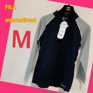フィラ(FILA)のストレッチtシャツ フィラ未使用美品  S-M 定価4900円(Tシャツ(半袖/袖なし))