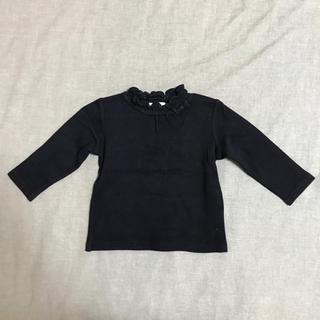 サンカンシオン(3can4on)の3can4on  黒 ロンT  90㎝(Tシャツ/カットソー)