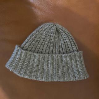 ビームス(BEAMS)のカシミヤ100% ニットキャップ(ニット帽/ビーニー)