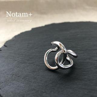 エンフォルド(ENFOLD)のN-134 overlap ring silver.(リング(指輪))