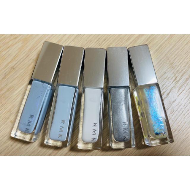 RMK(アールエムケー)のRMK🎀限定ネイル5色セット🎀未使用箱なし コスメ/美容のネイル(マニキュア)の商品写真