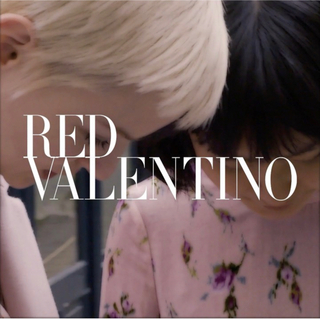 レッドヴァレンティノ(RED VALENTINO)のRED VALENTINO♡ 丸襟デザインジャケット(ノーカラージャケット)