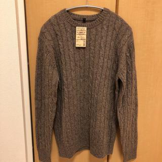 ムジルシリョウヒン(MUJI (無印良品))の無印良品 ケーブル編みセーター ニット muji(ニット/セーター)