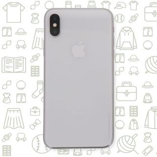 アップル(Apple)の【C】iPhoneX/64/SIMフリー(スマートフォン本体)