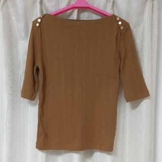 ロペピクニック(Rope' Picnic)のブラウンカットソー(Tシャツ/カットソー(半袖/袖なし))