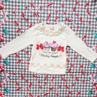 シャーリーテンプル(Shirley Temple)のシャーリーテンプルショコラトリーカットソー90(Tシャツ/カットソー)