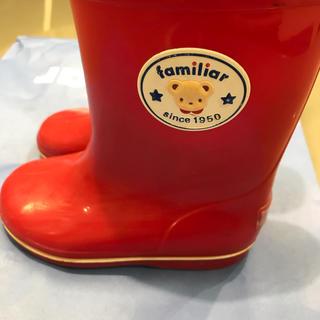 ファミリア(familiar)の専用ファミリア  レインブーツ 長靴(長靴/レインシューズ)
