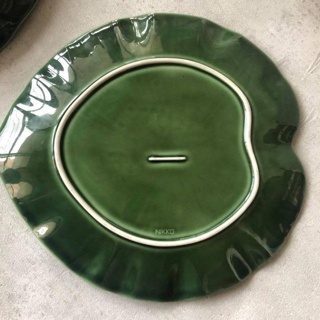 NIKKO(ニッコー)の緑のテーブルセット NIKKO ニッコー インテリア/住まい/日用品のキッチン/食器(食器)の商品写真