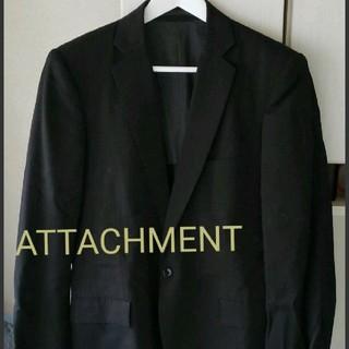 アタッチメント(ATTACHIMENT)のATTACHMENT  ストライプ1Bテーラードジャケット(テーラードジャケット)