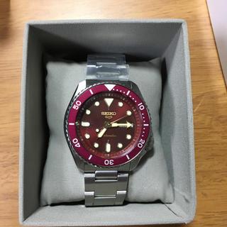 セイコー(SEIKO)のSEIKO 5 SPORTS  海外流通限定モデル  レッド(腕時計(アナログ))
