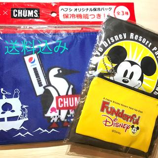 チャムス(CHUMS)の【匿名配送★新品】保冷バッグ&ディズニーエコバッグ2個セット(その他)