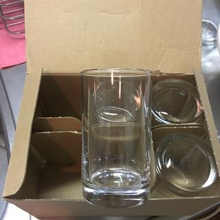 トウヨウササキガラス(東洋佐々木ガラス)のタンブラーグラス4個セット(食器)