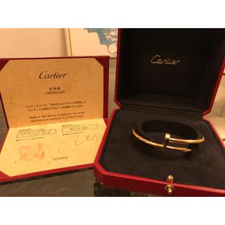 カルティエ(Cartier)のカルティエ  ジュストアンクル 17(ブレスレット)