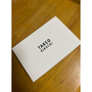 タケオキクチ(TAKEO KIKUCHI)の【新品・未使用品】パッチワーク キーケース(キーケース)
