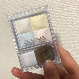 セザンヌケショウヒン(CEZANNE(セザンヌ化粧品))のセザンヌ ミックスカラーチーク 10 ハイライト(7.5g)(チーク)