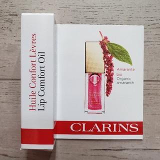 クラランス(CLARINS)の* 新品 クラランス リップオイル ミニサイズ 04 キャンディー *(リップケア/リップクリーム)