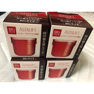 アスタリフト(ASTALIFT)の4個 アスタリフト ジェリー アクアリスタ60g レフィル 先行美容液(ブースター/導入液)
