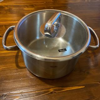 フィスラー(Fissler)のfissler フィスラー 両手鍋22cm(鍋/フライパン)
